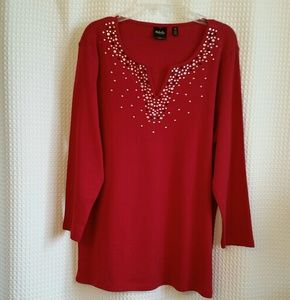 NWOT Rafaella 100% cotton sweater